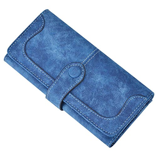 XeYOU 大容量 長財布 レトロ ファション カードケース...