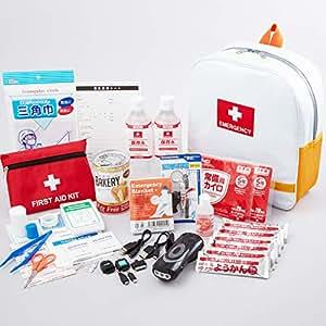 【子ども用の防災グッズ】キッズ防災セット 被災時に子供を安全を守る非常持出袋