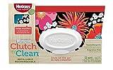 [ハギーズ]Huggies Clutch'n'Clean Wipe/クラッチ クリーン ワイプ ポーチ おしりふき 32枚入 新柄フラワー [並行輸入品]