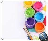 マットレスパッド、紙とペンの組み合わせのデザインで、マウスパッドをカスタマイズします。