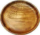 エメリー商会 木の食器 アカシア ランチプレート ラウンド SW-E016