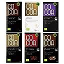 スーパーフード オーガニック ローチョコレート 50gx6種類食べ比べセット「ダーク ピーカンナッツ マルベリー ゴジベリー アサイー ココナッツ」