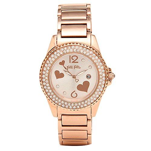 (フォリフォリ) FOLLI FOLLIE フォリフォリ 腕時計 FOLLI FOLLIE レディースウォッチ WF9B049BTS シルバー/ピンクゴールド[並行輸入品]