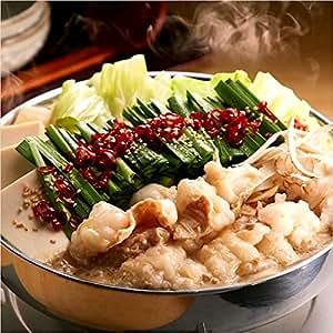 博多 もつ鍋 蟻月 白のもつ鍋 (もつ600g ・ スープ750g) 増量セット 特製白味噌味 4~5人前