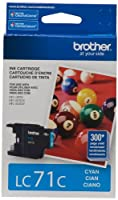 Brother LC-71CS Cyan Ink Cartridge by Brother