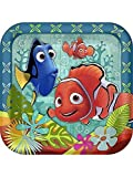 Finding Nemo 'Coral Reef' Large Paper Plates (8ct) [並行輸入品]