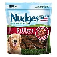 Nudges Wholesome Dog Treats Steak Grillers (48 oz.) BIG BAG [並行輸入品]