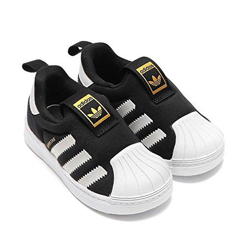(アディダス) adidas キッズスリップオンのスーパースター360ファンデーションアディダスキッズスニーカー Superstar 360 I Kids Adidas sneakers S82711 V (14cm) [並行輸入品]