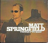 Things I've said [Single-CD]