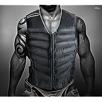 【 勝ちたければ キロ!! 】 フィットベルトで着ぶくれしにくい 総重量 約10kg 究極 肉体改造 パワースーツ 強化ジャケット トレーニング 効率 アップ 男女兼用 筋トレ