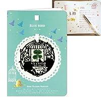 メッセージカード 封筒付き 四つ葉のクローバー クローバー メッセージカード 付き プチギフト グリーティングカード クローバーおとぎカード 青い鳥 AR0103036