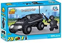 [コビー]COBI New! Action Town Police Transporter 75 Piece Building Block Set COB1519 [並行輸入品]