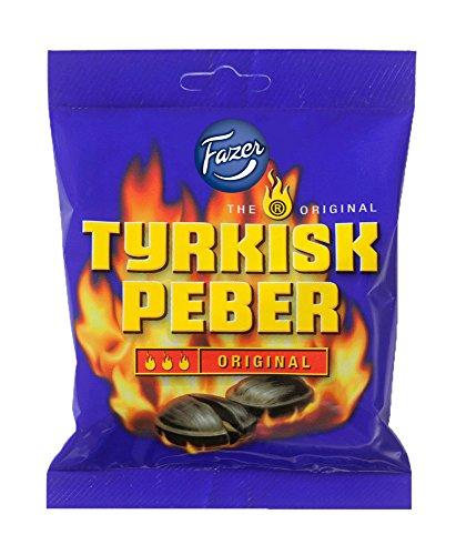 Tyrkisk Peber original Hottest 150g サルミアッキ キャンディー ペッパー風味 三辛 150g かなり強烈です フィンランドのお菓子です [並行輸入品]