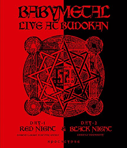 LIVE AT BUDOKAN~ RED NIGHT & BLACK NIGHT APOCALYPSE ~ [Blu-ray] -