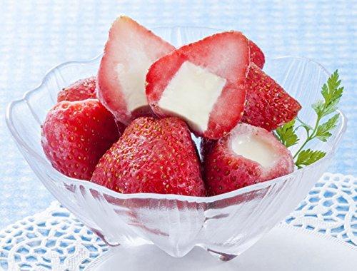 業務用 苺まるごと練乳入りアイス 20g×50個入×2袋