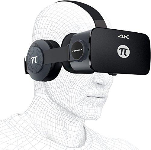 PIMAX 4K VR ゴーグル 3Dメガネ ヘッドマウントデ...