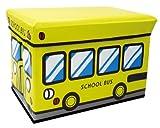 ユーカンパニー U-company ストレージボックス スツール スクールバス 耐荷重80kg 座れる収納ボックス