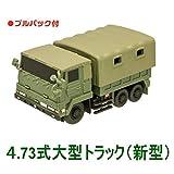 チビスケ 陸上自衛隊車両 [4.73式大型トラック(新型)](単品)