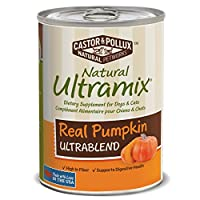 Natural Ultramix Dietary Supplement for Dogs and Cats, Real Pumpkin, 12.7 Ounce Cans (Case of 12) by Natural Ultramix