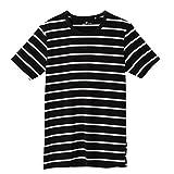 (ボディワイルド)BODY WILD Tシャツ ボーダー クルーネック BWJ013 97 ブラック M