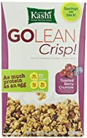 Kashi GOLEAN Crisp! Cereal, Toasted Berry Crumble, 14 Ounce by Kashi