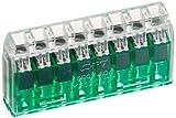 ニチフ 差込形コネクタ クイックロック 20個入 QLX8-GCL