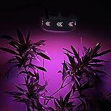 Derlights 216W ワット相当 AC85-265V 72LED 植物育成LEDランプ led植物育成ライト 水耕栽培ランプ 低消費電力  led植物育成   室内用 室内栽培 日照不足解消 水耕栽培/植物育成 赤色42灯 青色12灯 3* IR 3* UV