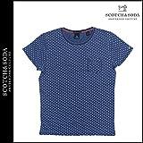 (スコッチ&ソーダ) SCOTCH&SODA 半袖 Tシャツ ティーシャツ メンズ 水玉 ネイビー INDIGO TEE S (並行輸入品)