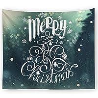 LJFYXZ タペストリー ハンギングクロス クリスマスのタペストリー 家の装飾 背景壁 ソファクッション 現代のシンプルさ リビングルームベッドルーム寮 さまざまなスタイル (色 : F f, サイズ さいず : 150x130cm)