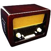 クマザキエイム Bearmax アンティークCDラジオ AT-2472