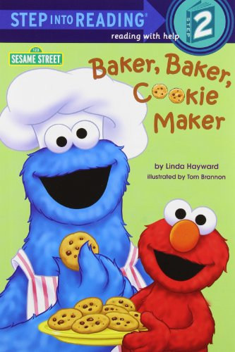 Baker, Baker, Cookie Maker (Sesame Street) (Step into Reading)の詳細を見る