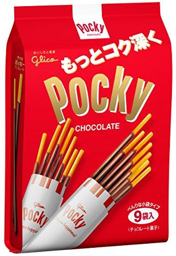 江崎グリコ ポッキーチョコレート 9袋×6個