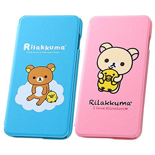 レイ・アウト iPhone 6 Plus リラックマ・ブックタイプレザーケース(合皮) リラックマ RT-SXP8B/RK
