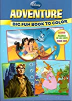 Disney Big Fun Book to Colour Adventure (96 Pages)