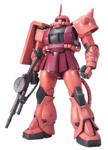 1/100 MG MS-06S シャア専用ザク Ver.2.0 台座・キャラプレート付き