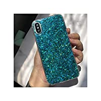 グリッター電話ケースのために華為P8 P9 P10 P20 P30 PスマートプラスFor Huawei社P30 Liteは、グリーンのために10 20X LiteとProのBlingblingクリスタルカバーを、メイト