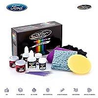 Color N Drive フォードタッチアップペイント F150 Fシリーズ エスケープ エクスプローラー フュージョン トランジットエッジ フォーカスペイントスクラス チップ修理キット OEM品質 正確なカラーマッチング Basic Pack CNDFORD19-BSC0004
