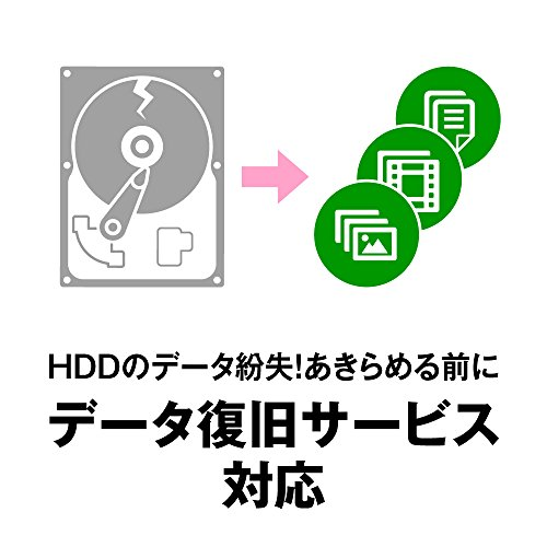 『BUFFALO ミニステーション USB3.1(Gen1)/USB3.0用ポータブルHDD 2TB HD-PCFS2.0U3-BBA』の5枚目の画像