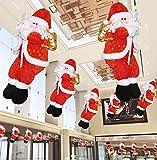 クリスマスツリー サンタ人形 クリスマスパーティー クリスマス装飾 サンタクロース 3D立 体感 ドア装飾 オーナメン Kungfu Mall