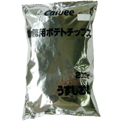 カルビー 業務用ポテトチップス うすしお味 200g×6袋