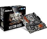 ASRock Intel H110チップセット搭載 MicroATXマザーボード H110M-HDV