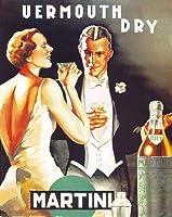 アートポスター D. Lubatti: Vermouth Dry Martini, 1930