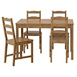 IKEA(イケア) JOKKMOKK 20211105 テーブル&チェア4脚, アンティークステイン