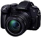 パナソニック ミラーレス一眼カメラ ルミックス G8 レンズキット 標準ズームレンズキット 1600万画素 ブラック DMC-G8M-K