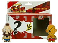 "Sagat vs Zangief 2: Street Fighter X Kidrobot ~ 3"" 2-mini-figureパックシリーズ"
