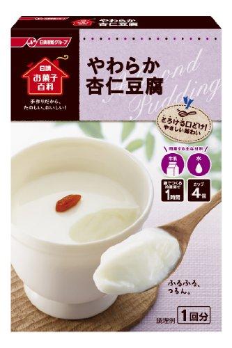 日清お菓子百科 やわらか杏仁豆腐 60g×6個