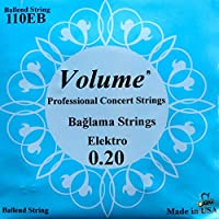 Professional Electric Saz Baglama Strings Ball End Set VS-404E