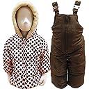 Carter 039 s カーターズ ベビー服 スキーウエア 防寒着 綿入り ジャケット サロペット 上下セット 75~80cm
