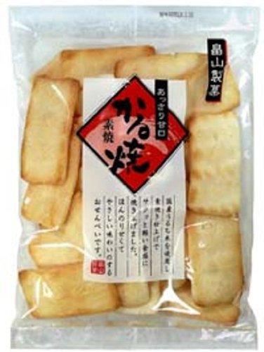 畠山製菓 素焼かる焼 108g×12袋