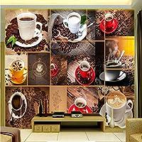 Wxmca 写真の壁紙3Dステレオの壁紙絶妙なコーヒーテレビの壁の装飾画ロビースタジオ壁画カスタム壁紙-250X175Cm